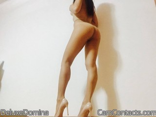 Cam to cam with English Mistress DeluxeDomina longs for punish you