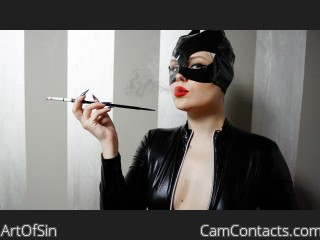 Live sex with English Mistress ArtOfSin craves a sub male