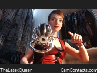 Cam to cam with Findom TheLatexQueen craves wankers