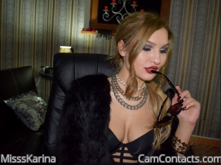 Cam to cam with English Mistress MisssKarina needs Piggies